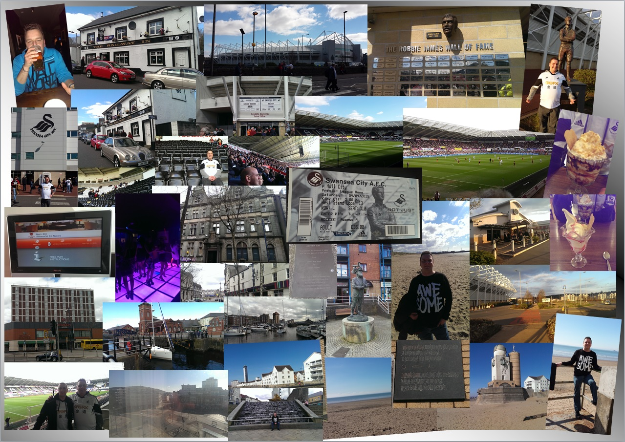 Swansea 2015 fotocollage